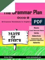the grammar plan book 1 - parts of speech