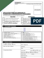 Foundation Diploma Undergraduate AppForm