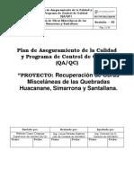 PLAN de CALIDAD Consorcio Versac