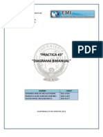 Reporte Diagrama Bimanual