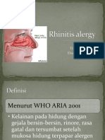 Rhinitis Alergy
