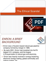 Ethics Enron Scandal