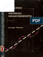 The Analysis Of Physical Measurements by Pugh Winslow
