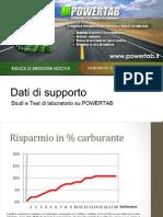 Dati Tecnici PowerTab
