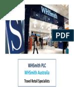 WHSmith Australia Marketing Exposure Examples Books 2013