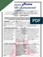 Amazing Anime Portfolio Assessment 09