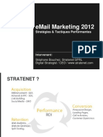Presentation Stephane Bouchez Email Marketing