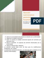 Atencion Nutricional Pac Hospital