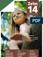 Zehn 14 - das Evangelische Elternmagazin