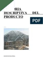 Steel Frame- Memoria Producto
