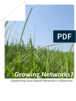 Growing Networks