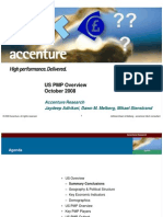 US PMP Overview 2008