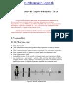 Manual de instalare Kit Computer de Bord Dacia LOGAN