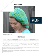 Sea Breeze Summer Slouch