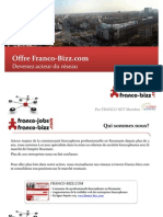 Franco BIZZ - Offre Commerciale 2013