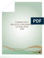 Community Health Assessment Guidelines 2009