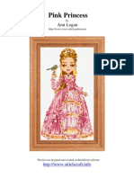 Princess Pink Cross Stitch