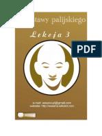 Podstawy palijskiego lekcja 3