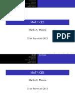 Matrices Clase 1
