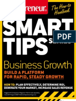 Entrepreneur SmartTips Guide Business Growth Rapid Steady Growth