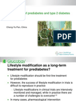 Asia - Pan - Management of Prediabetes and Type 2 Diabetes