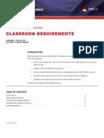 Classroom Requirements