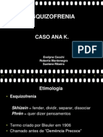 Esquizofrenia - Final