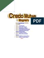 From CredoMutwa Website