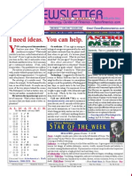 ASTROAMERICA NEWSLETTER DATED JUNE 11, 2013