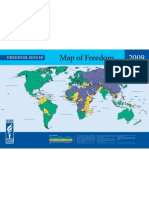 MAP OF FREEDOM--2009