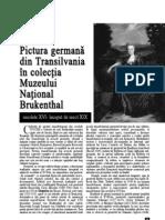 Art19 Pictura Germana Din Transilvania in Colectia Muzeului National Brukenthal