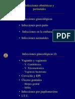 INfefcciones obstetricas