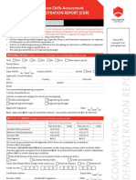 Cdr Application Form