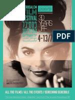 The 2013 Jerusalem Film Festival Program