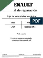 Caja Cambio Scenic-rx4
