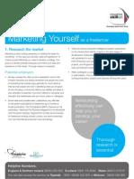 Skillset Factsheet - Marketing Yourself