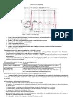 Cardio and Respiratory