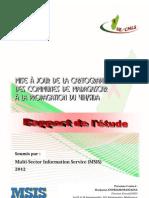 Mise à jour de la cartographie des communes de Mdagascar à la propagation du VIH/SIDA - Rapport de l'étude  (MSIS - 2012)