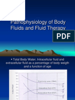 Pathophysiology of Body Fluids and Fluid Therapy