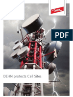 DEHN Ds104 e Dehn Protects Cell Sites from Lightning Damages