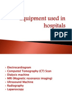 Equipment Used in Hospitals