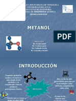 Metanol. Grupo 7.