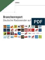 Facebook Branchenreport - Radiosender aus Deutschland