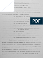 Memorandum of Meeting of the Bilderberg Steering Group, December 6 and 7, 1954, in Paris