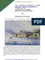 Castillo San Felipe, de Marcelino González.  Central Librera calle Dolores 2 Ferrol Tfno 981 35 27 19