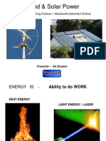 Wind & Solar Power 2011