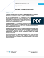 02 - Clase - Planificación Estrategica del Marketing