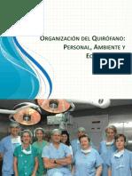 Organización del Quirófano exposicion 2013 2