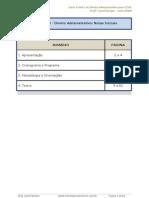 Curso Regular de Direito Administrativo Cespe Aula 00 24534