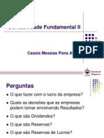Contabilidade Fundamental II Reservas[1]